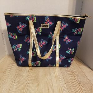 Lilly Pulitzer Butterfly Bag